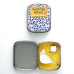 Boite réconfort minute personnalisée oiseau moutarde bulle 150x150 - Boite Réconfort Minute personnalisable 1 bulle