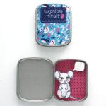 Boite réconfort minute personnalisée souris rose et bleu bulle 150x150 - Boite Réconfort Minute personnalisable 1 bulle