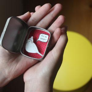 boite reconfort minute personnalisée oiseau fille ou garçon 1 bulle 300x300 - Boites à message