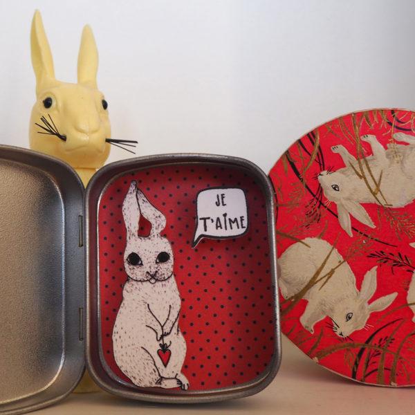 boite reconfort lapin coeur jetaime 600x600 - Boite Réconfort Minute Lapin Coeur