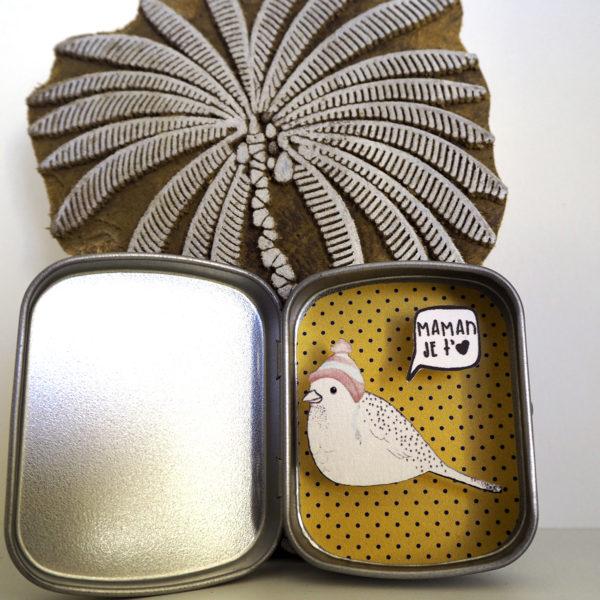 boite reconfort oiseau maman jetaime 600x600 - Boite Réconfort Minute Oiseau